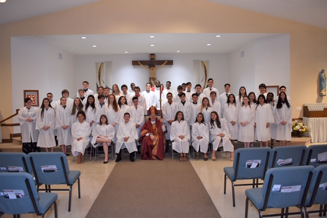Confirmation Class 2019